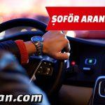 ŞİRKETİMİZE E ehliyetli+ SRCli genç sevkiyat şoförü. İstoç civarı