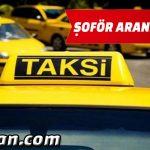 Ticari Taksi Şoförü